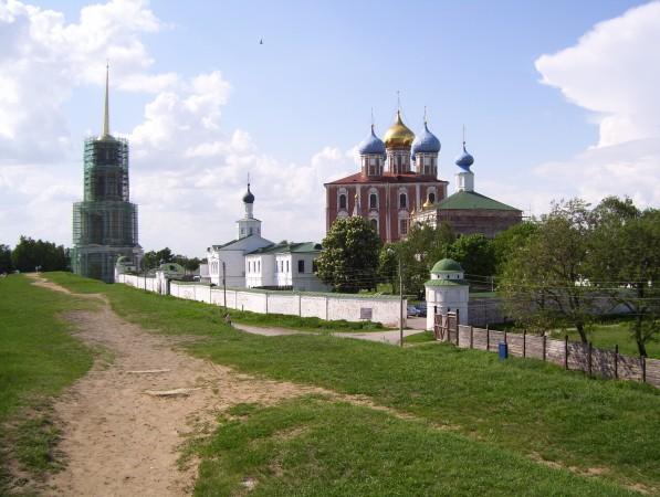 Ansicht auf Kreml vom Erdwall