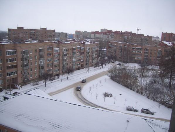 leichter Schneefall über Nacht