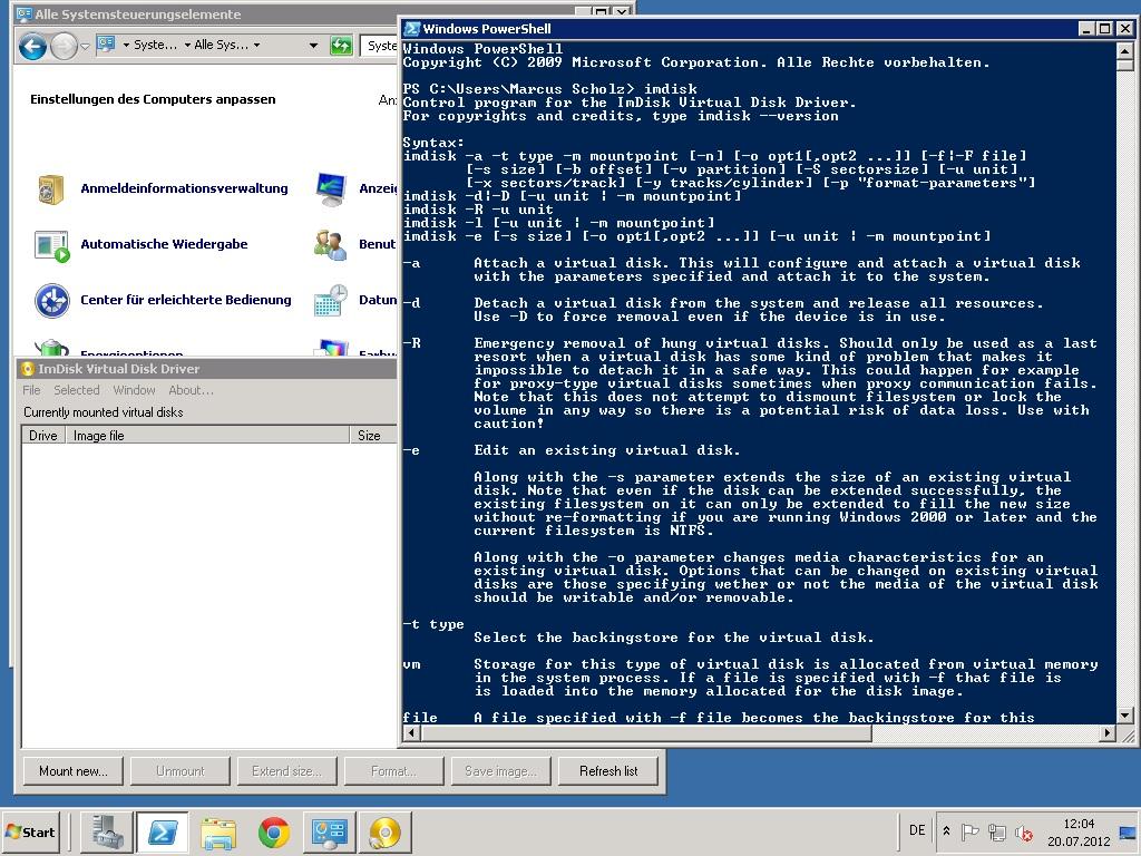 ImDisk: sexy Image-Mounter für Windows – Dem Commander1024