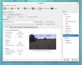 HandBrake Videokonverter