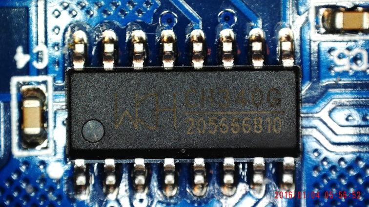 Serieller Controller CH340G