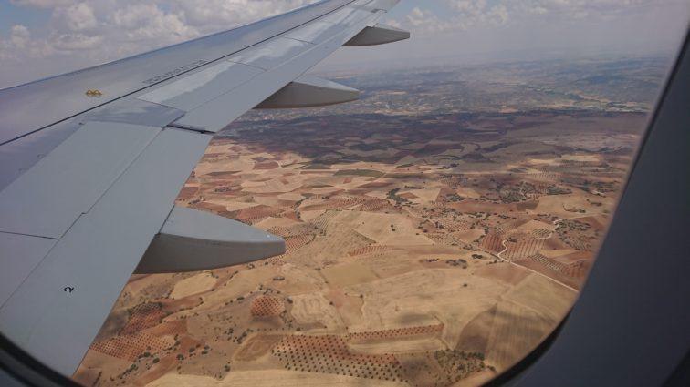 Der Sommer war auch in Spanien im Landesinneren ziemlich gnadenlos mit der Vegetation.