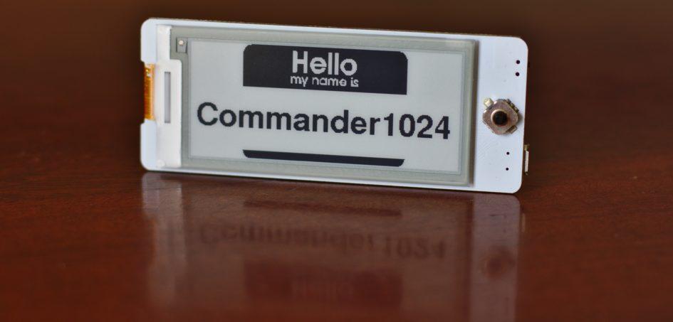 Commander1024 Badge