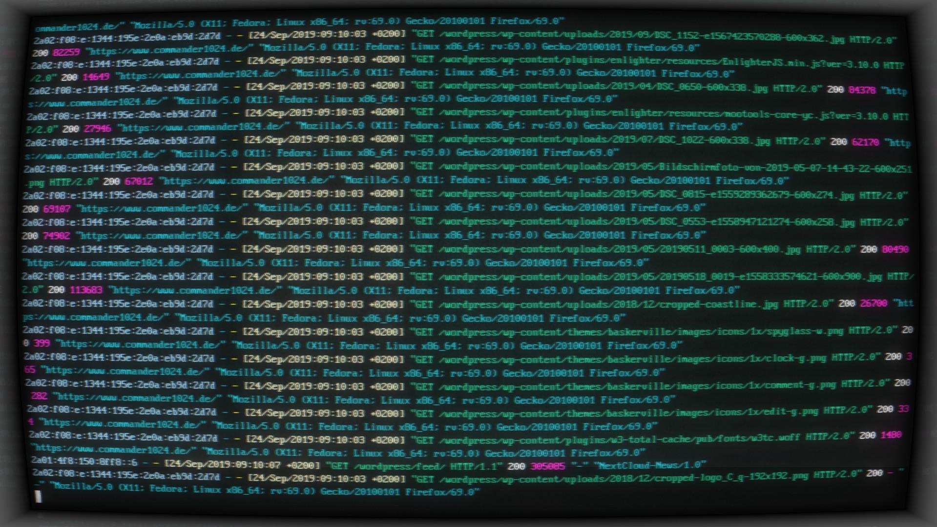 Apache2 Webserver liefert diese Webseite aus