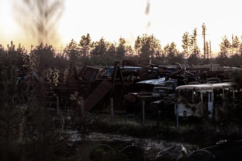 Buryakivka vehicle graveyard